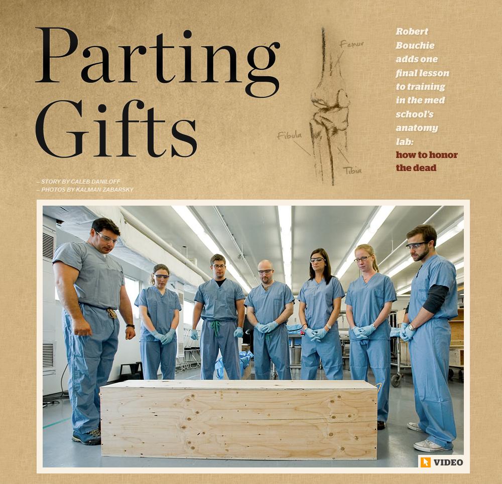 Anatomical Gifts Program featured in Bostonia Magazine » Anatomy ...