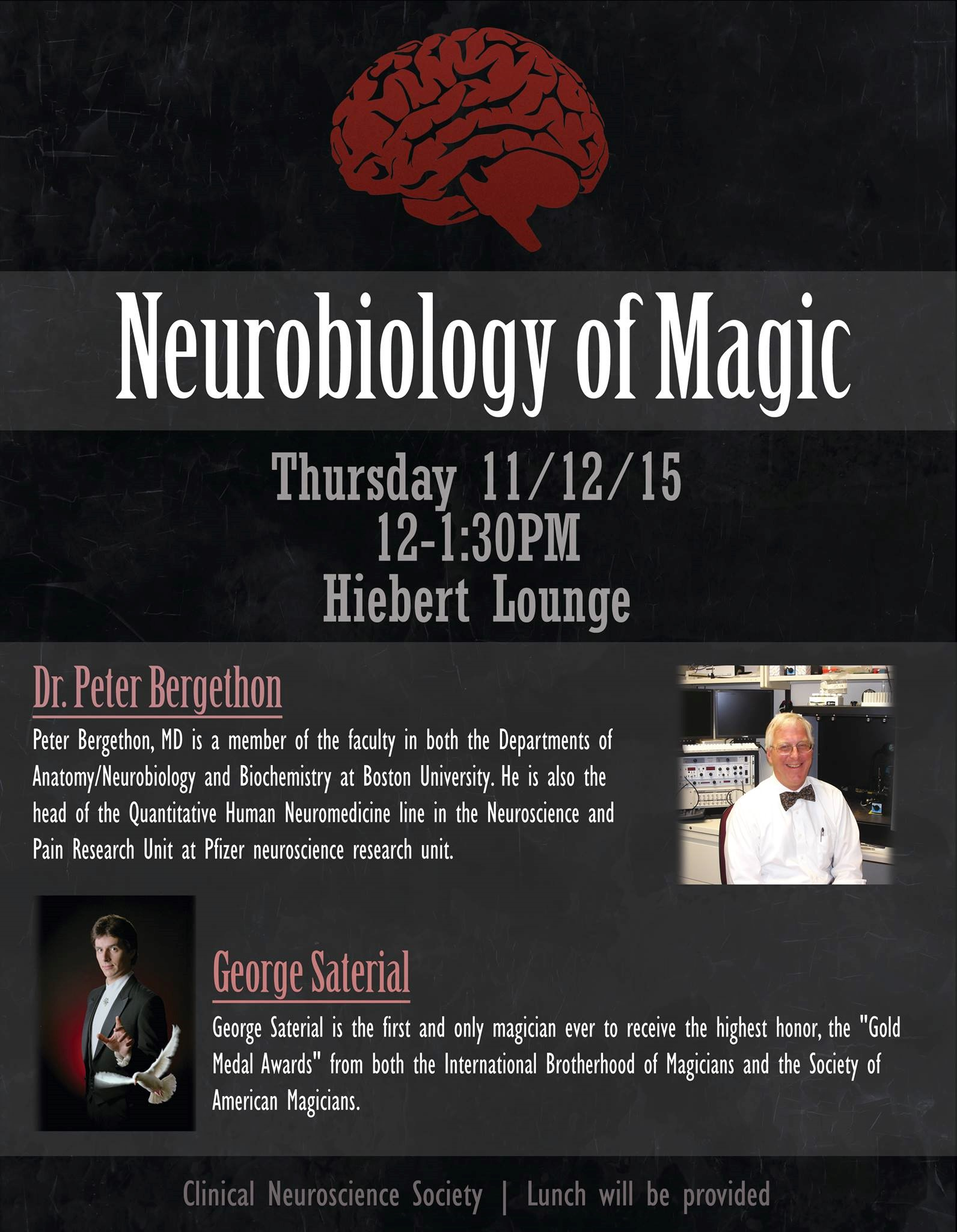 1112 Neurobiology Of Magic Anatomy Neurobiology