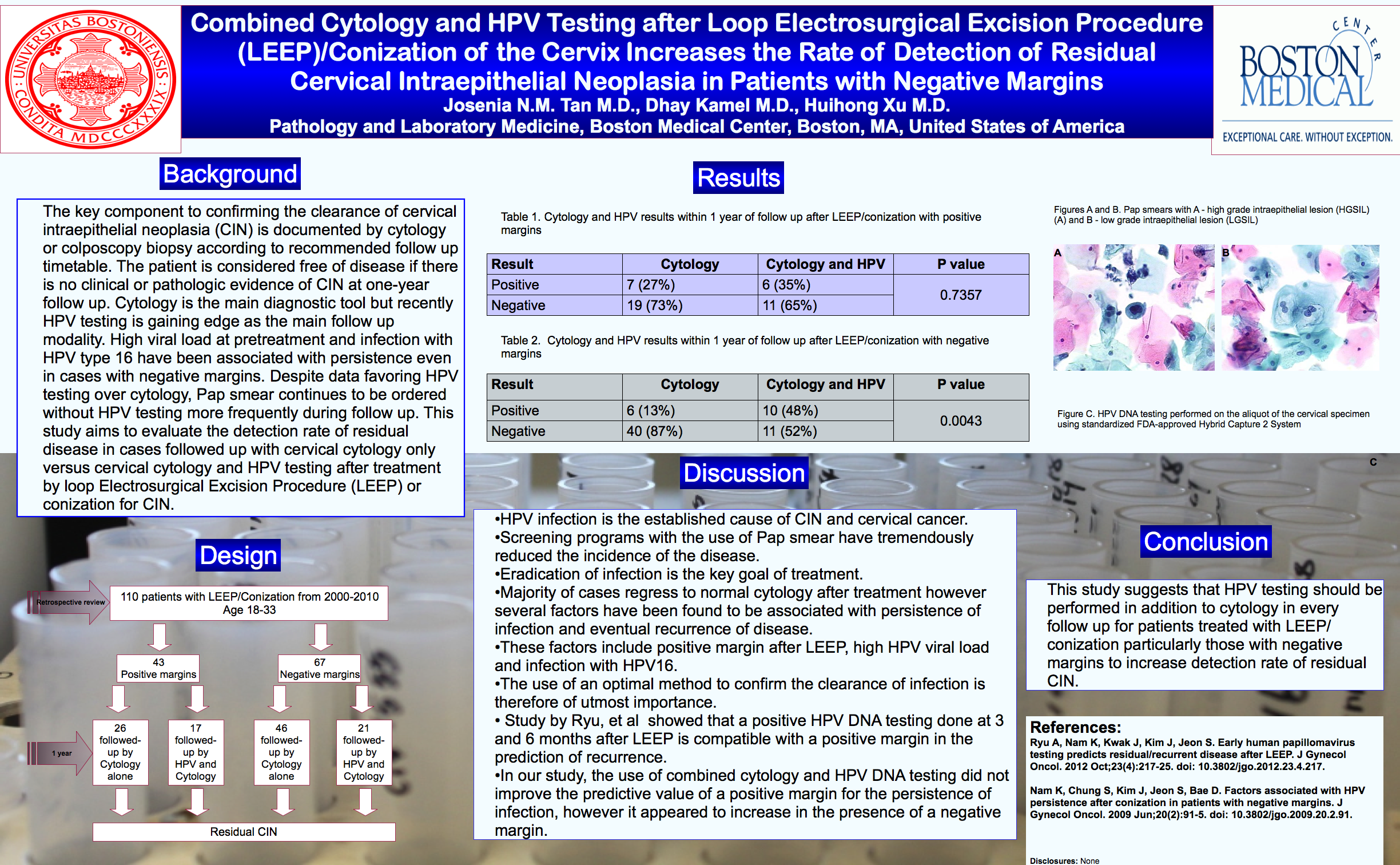 Leep Poster Presentation 187 Pathology Amp Laboratory Medicine