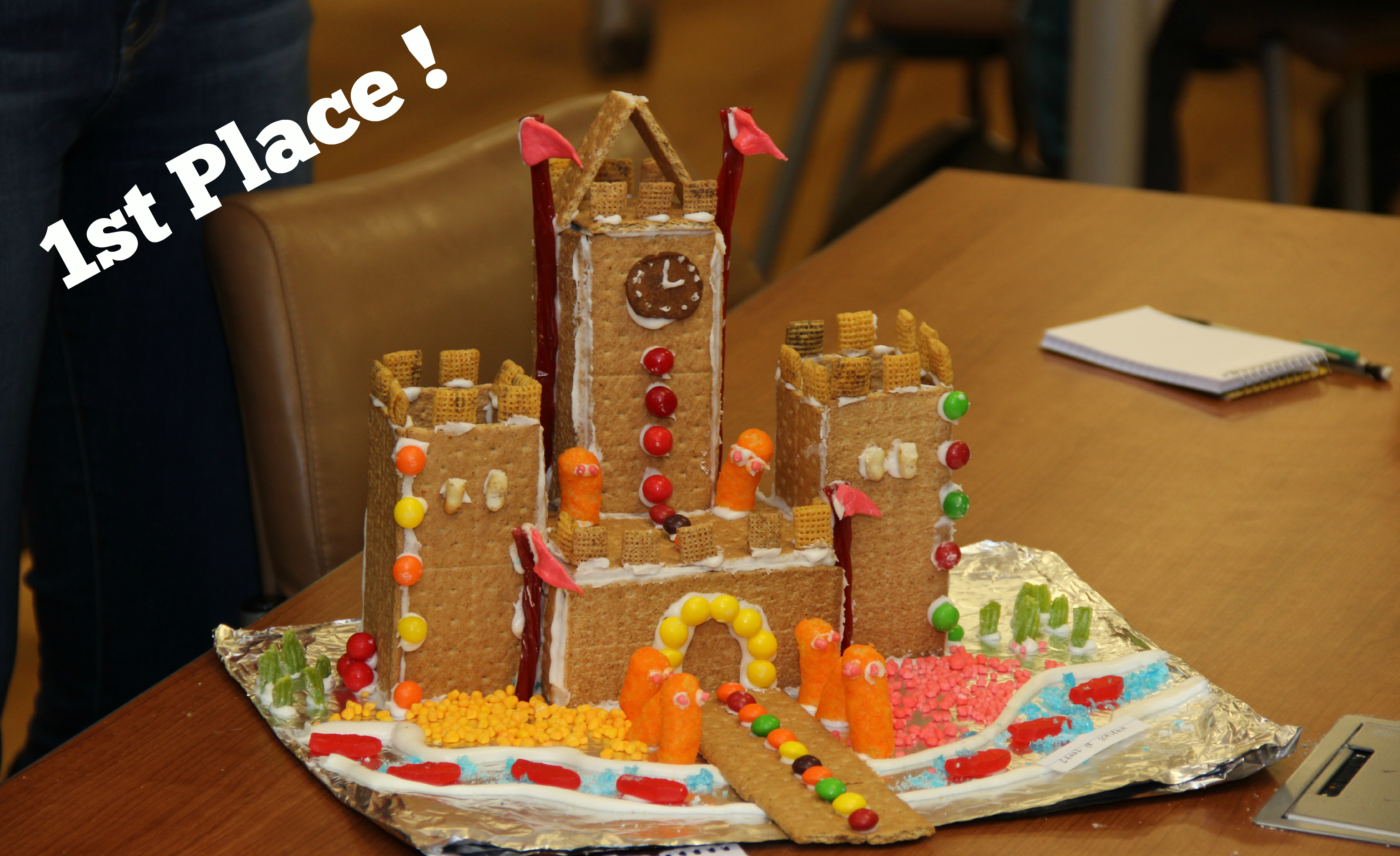 med students contend for top gingerbread house honors