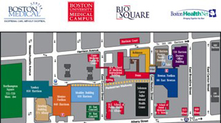 Boston University Campus Map map_way_finding » Boston University Medical Campus | Boston University