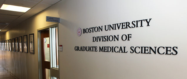 BU Division of Graduate Medical Sciences offices