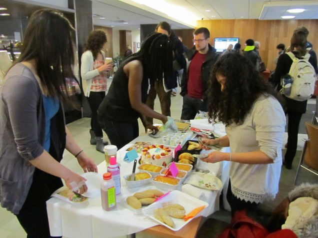 Fundraising for future MISO events with homemade baked goods