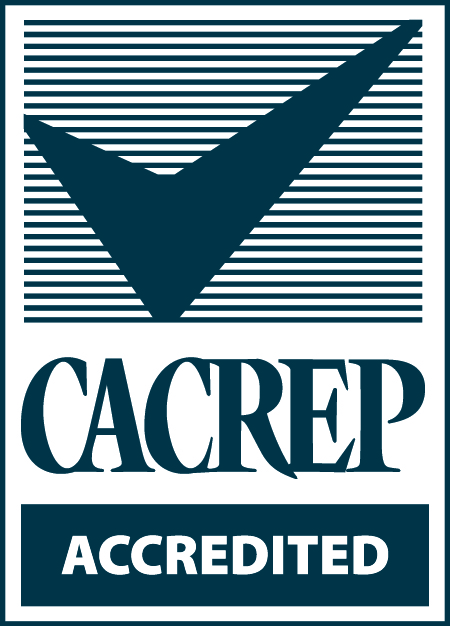CACREP Accredited check mark