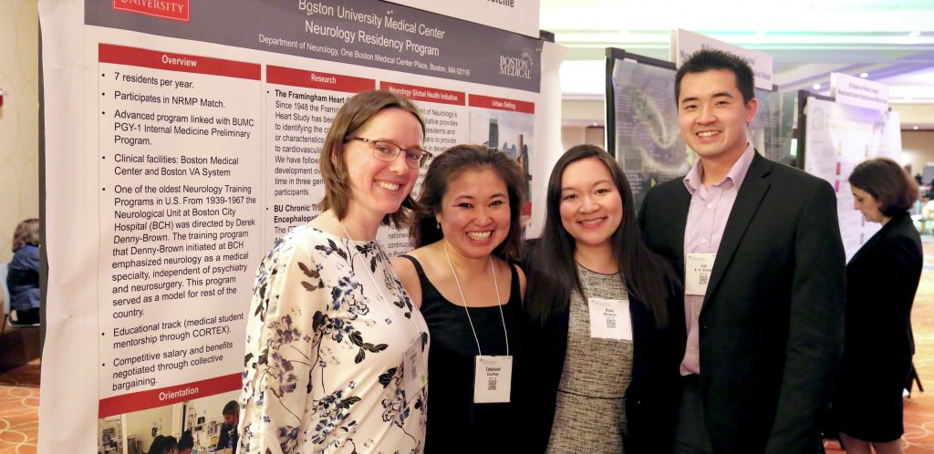BUMC Residents and BUSM Students at 2019 AAN | Neurology