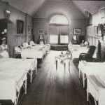 Hospital Ward at Massachusetts Homeopathic Hospital